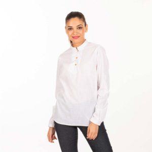 Camisa para camareras blanca 2436
