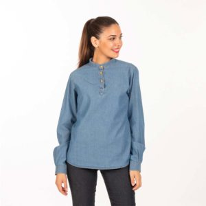 Camisa vaquera para camareras 2423