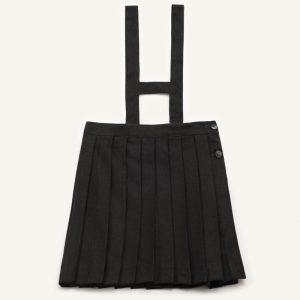 Falda de tablas para uniforme