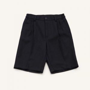 Pantalón uniforme corto marengo