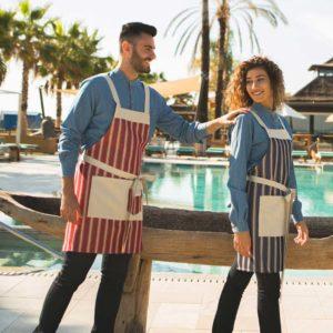 Mandil cocina moderno rayas 1573