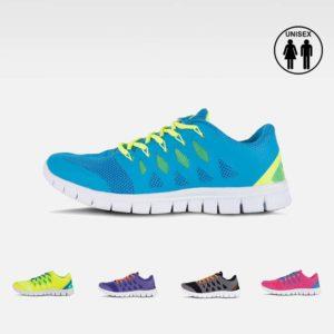 Zapatillas deportivas bicolor