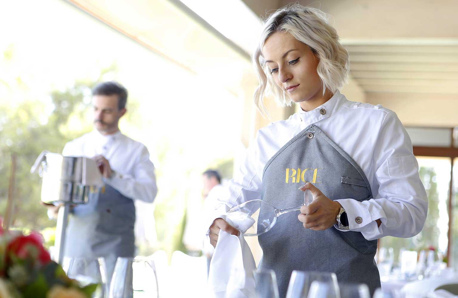 uniformes catering sevilla