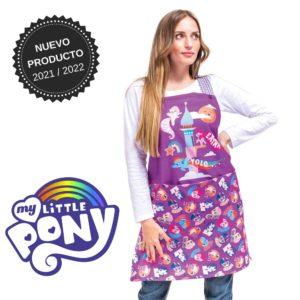 Delantal profesora infantil my little pony 130207
