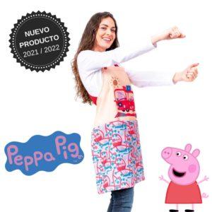 Delantal maestra peppa pig 130204