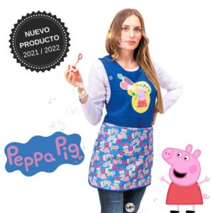 Delantal maestra peppa pig 130802